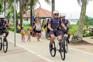 Os policias permanecerão no Município de quarta-feira (22) a 2 de março