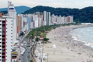 PG, Peruíbe, Itanhaém e Mongaguá têm aluguéis mais baratos para apartamentos de 3 dormitórios e casas de 4