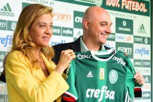 Maurício Galiotte se esquivou das perguntas referentes à contratação de Miguel Borja