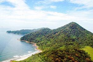 A área ocupada pela futura usina será do tamanho de 18 campos de futebol e o Parque Estadual Xixová-Japuí está entre as áreas afetadas pelo empreendimento