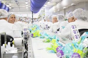 Fábrica de chocolates localizada na capital paulista iniciou contratação temporária em outubro do ano passado