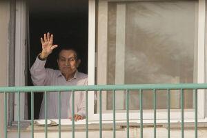 O ex-presidente egípcio Hosni Mubarak, deposto em uma revolta popular em 2011, está em liberdade