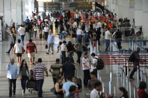 O Ipem-SP fiscalizou as balanças de check-in nos aeroportos paulistas