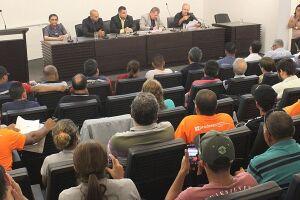 Gonzalez explicou que a única saída para se pagar a dívida com a Prefeitura é vendendo o terreno da usina de asfalto