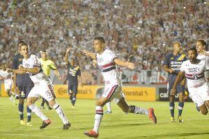 Cícero foi o destaque do São Paulo no jogo de hoje