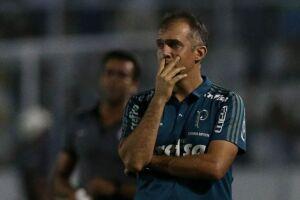 O Palmeiras não irá divulgar a lista de relacionados de Eduardo Baptista