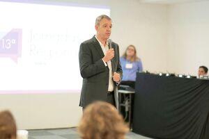 Rodrigo Capelato apresentou números durante palestra inaugural da 13ª edição das Jornadas Regionais