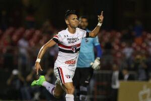 Luiz Araújo foi um dos destaques da partida