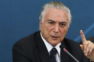 O presidente Michel Temer (PMDB) defendeu a carne brasileira