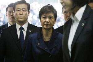 Park Geun-hye passa hoje o primeiro dia na prisão de Uiwang