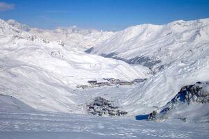 Acidente atingiu estação de ski de Tignes