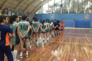 Equipe sub-15 da Associação Realizar perdeu na estreia da Copa Pinheiros