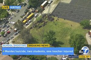 Um tiroteio em uma escola primária deixou ao menos dois mortos e dois feridos em San Bernardino