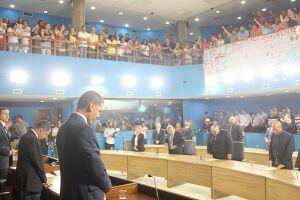 Vereadores aprovam em segunda discussão a reforma administrativa do prefeito Ademario Oliveira (PSDB)