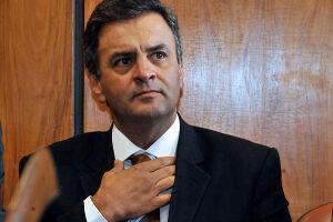 Gilmar Mendes suspendeu por ao menos 48 horas o interrogatório do senador Aécio Neves (PSDB-MG)