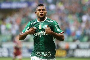 O colombiano Borja é a principal esperança ofensiva do Verdão
