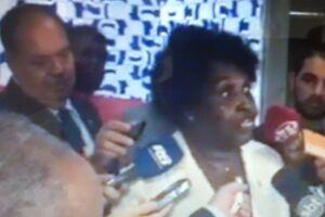 Benedita da Silva (PT-RJ) fez um discurso indignado na quarta-feira no plenário da Câmara dos Deputados