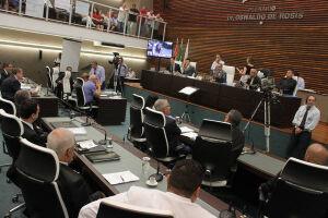 A sessão desta segunda-feira da Câmara de Santos encerrou mais cedo por falta de quórum