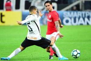 O Corinthians está fora da Copa do Brasil