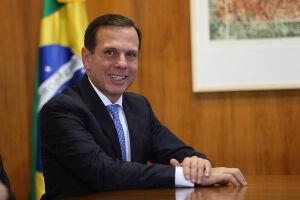 O prefeito de São Paulo, João Doria (PSDB), criticou manifestantes que aderiram à greve geral convocada para esta sexta-feira (28)