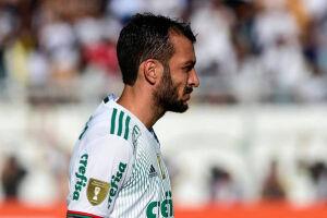 'O meu lema e o do Palmeiras é não desistir jamais. Vamos até o apito final', disse o beque