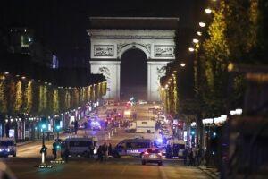 O tiroteio na Champs Élyssés deixou um policial morto e dois feridos