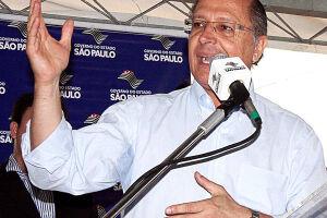 """O governador Geraldo Alckmin (PSDB) afirmou que a decisão de candidatura do partido à presidência será """"só no ano que vem"""""""