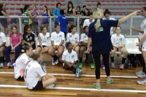 O sub-19 do Santos/Cepe/Fupes estreou bem na edição deste ano dos Jogos da Juventude