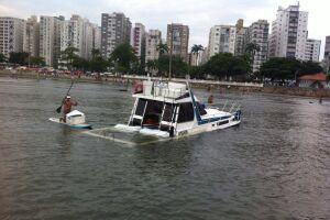 O resgate foi realizado no início da tarde de ontem, no canal de entrada do Porto de Santos, na Ponta da Praia