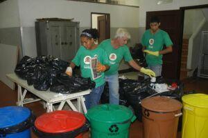 Coleta Seletiva recolhe cerca de 450 toneladas de recicláveis