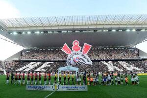 São Paulo acabou derrotado por 6 a 1 após ver este mosaico em Itaquera