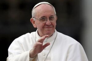 O Papa Francisco condenou um ataque a bomba contra uma igreja copta no Egito durante as celebrações do Domingo de Ramos