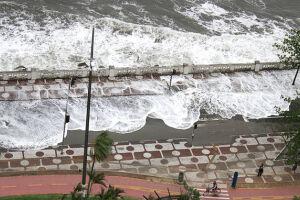 Previsão é de maré alta nesta quinta-feira (13)