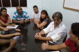 Servidores se reuniram com vice-prefeito de Cubatão