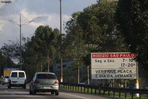 Rodízio de veículos será suspenso nesta sexta em SP