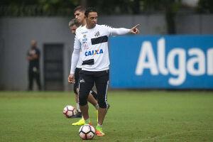 O Santos deve encarar dificuldades para acertar a renovação do centroavante Ricardo Oliveira