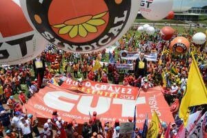 A Odebrecht diz que bancou os eventos de 1º de Maio da Força Sindical