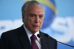Michel Temer comemorou a elevação da nota de crédito da Petrobras