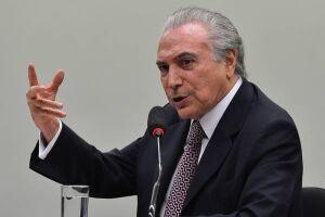 O presidente Michel Temer (PMDB) afirmou que não irá pedir o afastamento de ministros com base nas delações de executivos da Odebrecht