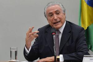 O presidente Michel Temer (PMDB) aparece com a maior porcentagem de rejeição