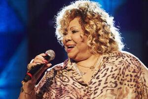 A cantora Alcione se apresenta na Virada Cultural Paulista