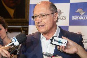 Geraldo Alckmin, foi mais contido ao falar neste sábado (27) sobre acordos para a sucessão do presidente Michel Temer