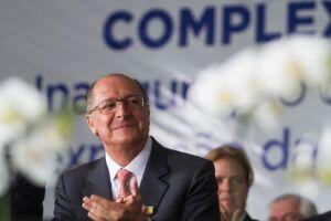 Geraldo Alckmin criticou o ex-presidente Luiz Inácio Lula da Silva (PT)