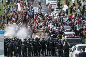 Confrontos ocorreram na última quarta-feira (24), em Brasília