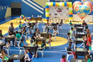 No próximo dia 26, a cidade de Guarujá recebe o 4º Desafio Escolar de Xadrez