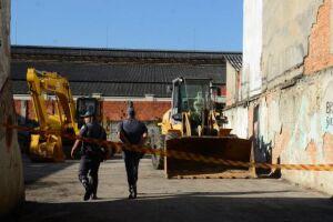 Prefeitura de São Paulo começa a demolir prédios na região próxima à Praça Julio Prestes, conhecida como Cracolândia