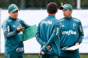 O treinador agradeceu à diretoria alviverde pela oportunidade de trabalho no Palmeiras