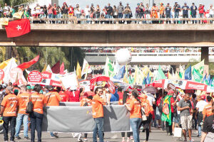 Centrais sindicais avaliaram como positiva a Marcha de Brasília, realizada dia 24 contra as reformas e prometem uma nova manifestação contra o Governo