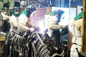 A produção da indústria brasileira voltou a ter alta, de 1,1%, em março