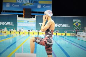 Joanna Maranhão e Guilherme Costa quebraram recordes na provas de 400m livre